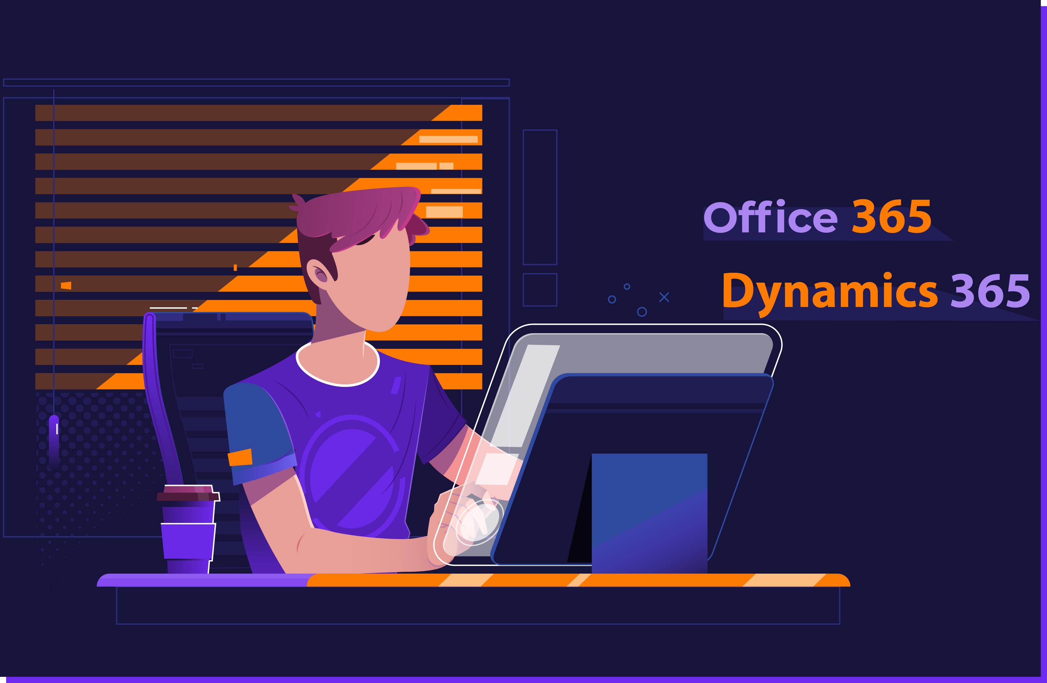 dynamics 365 office 365